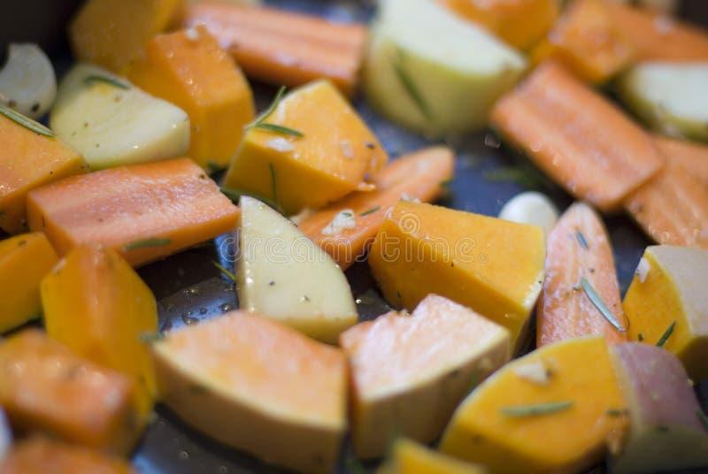 roast λαχανικά στοκ εικόνες