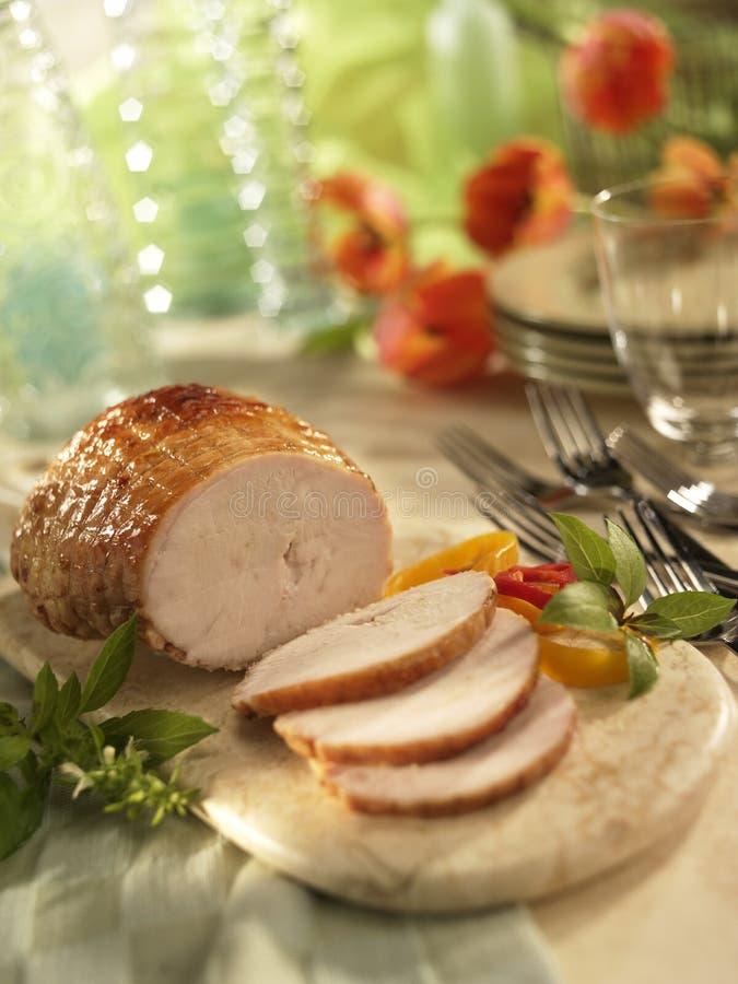roast Τουρκία στοκ εικόνα με δικαίωμα ελεύθερης χρήσης