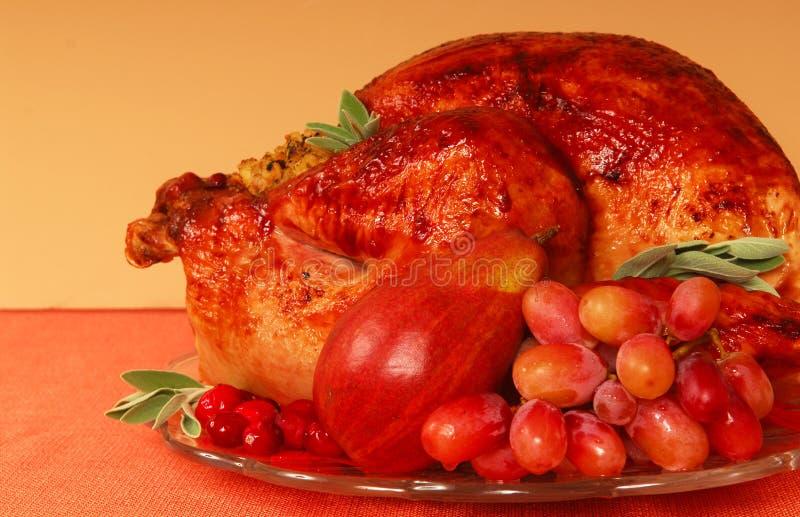 roast Τουρκία στοκ εικόνες
