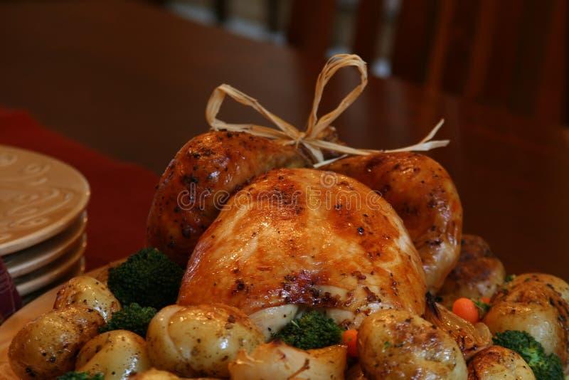 roast Τουρκία στοκ φωτογραφία