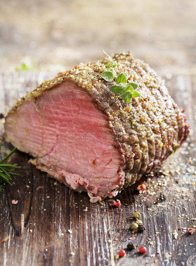 Free Roast Beef Royalty Free Stock Photo - 3958065