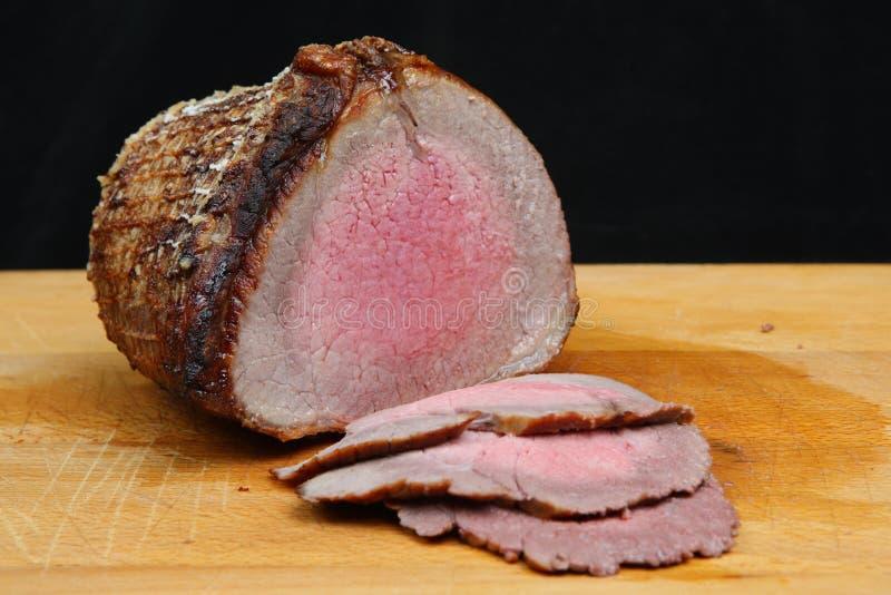 Roast Beef Joint stock photos