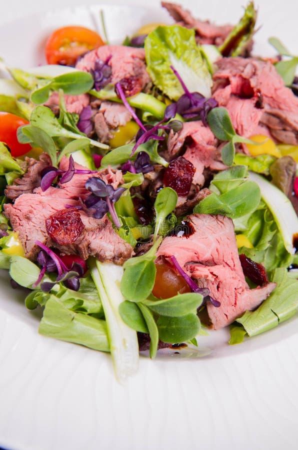 Roast beef salad stock images