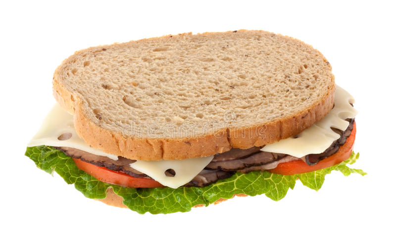 Download Roast Beef Sandwich stock image. Image of meal, beef - 14850833