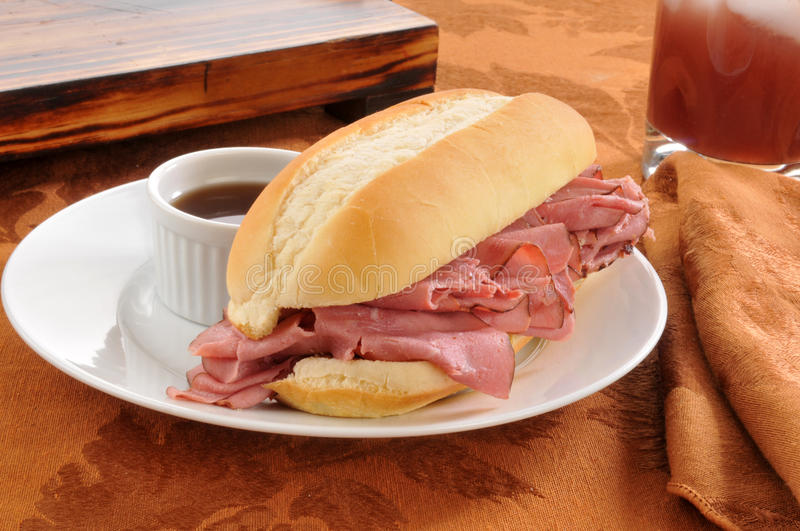 Download Roast Beef Sandwich Royalty Free Stock Image - Image: 27154356