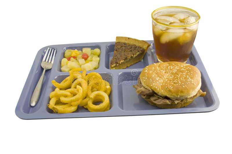 Roast beef sandwich cafeteria royalty free stock photography