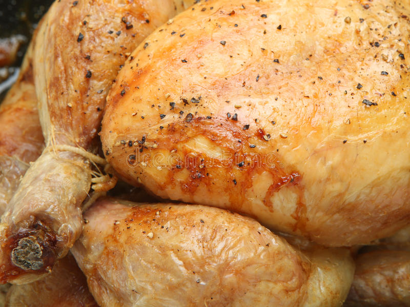Download Roast Chicken stock image. Image of breast, tied, nobody - 17898457