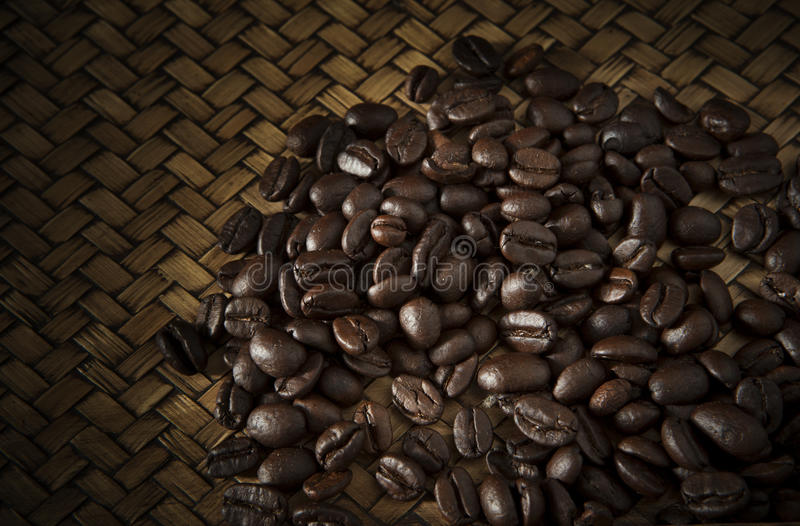 Download Roast coffee bean on wood stock photo. Image of mocha - 29910450