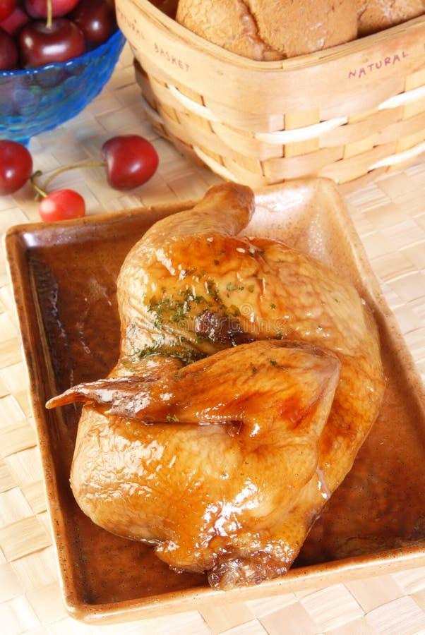 Download Roast Half Chicken Royalty Free Stock Photos - Image: 17615258