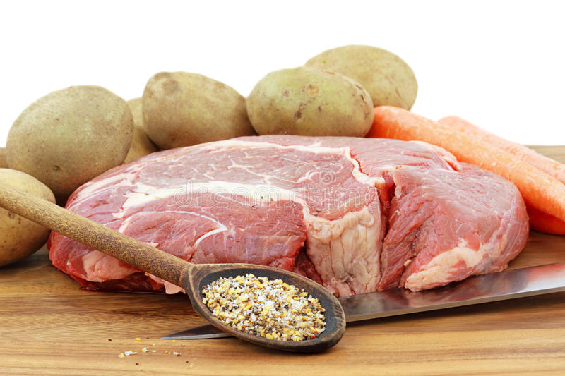 Download Roast and Ingredients stock image. Image of flavorful - 14464653