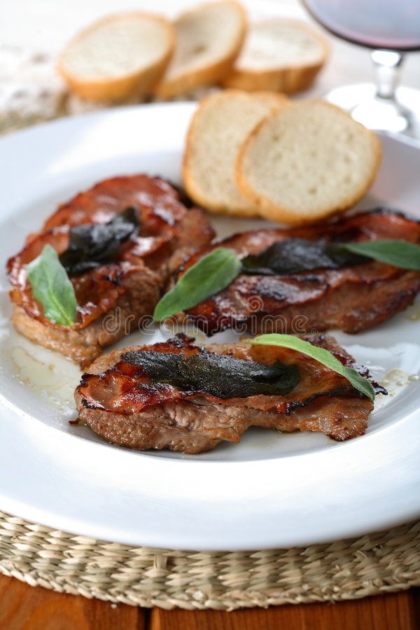 Download Roast Meat With Wine Royalty Free Stock Photos - Image: 2499358