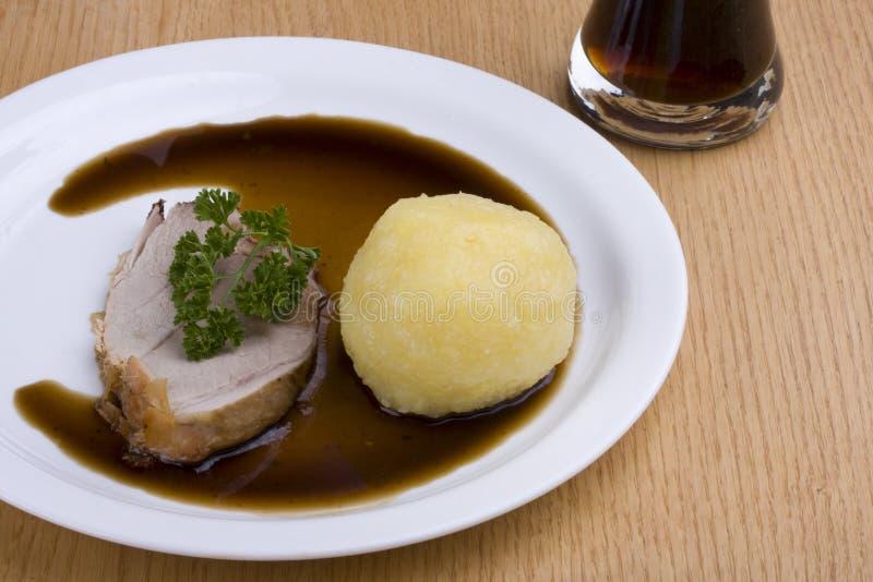 Roast pork stock photography