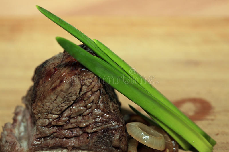 Roast red beef meat royalty free stock images