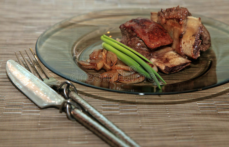 Roast red beef meat royalty free stock photography