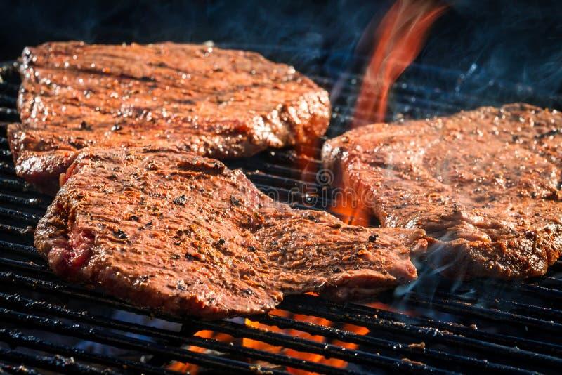 Roast steak beaf stock photography
