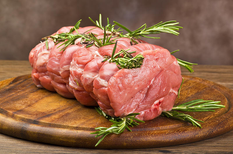 Download Roast Veal stock image. Image of white, rosemary, cuisine - 21806453