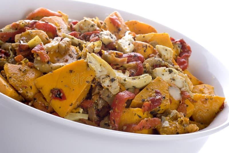 Roast Vegetable Salad stock images