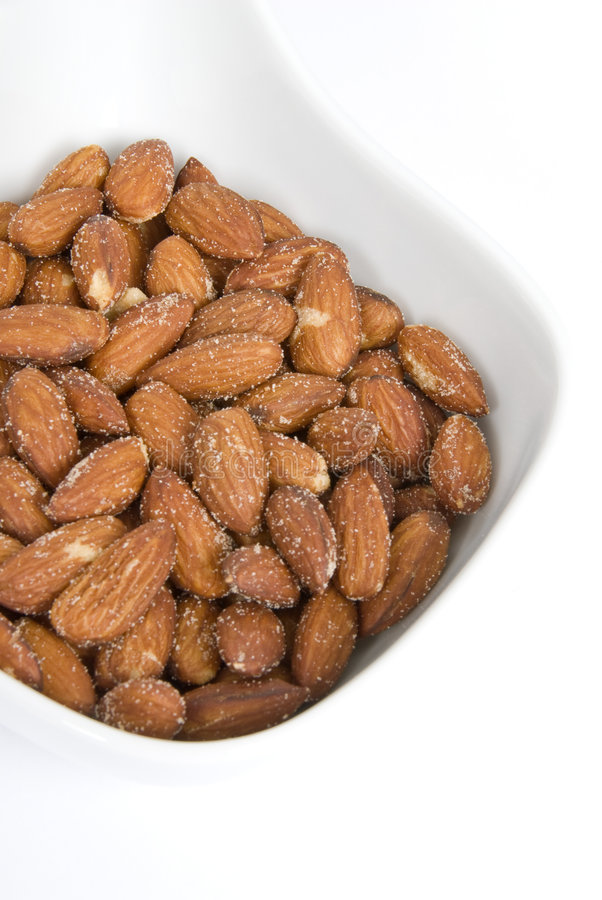 Download Roasted Almonds stock photo. Image of isolated, nutritious - 4877962