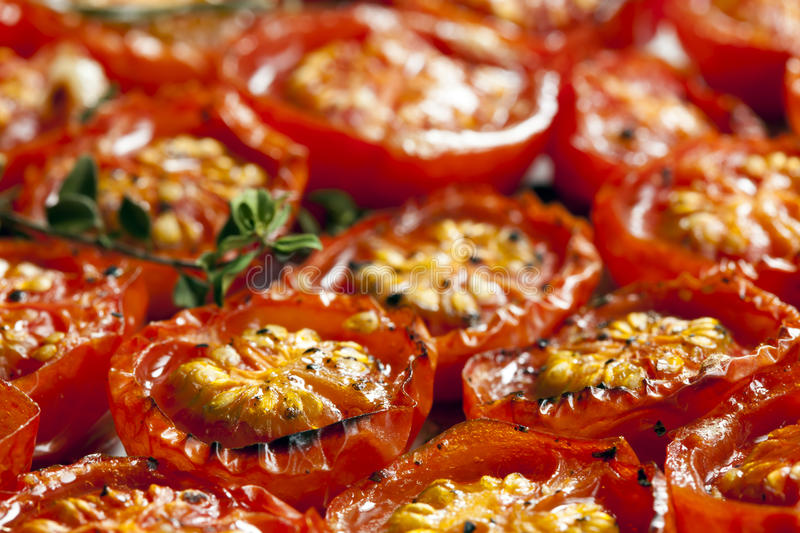 Download Roasted Cherry Tomatoes stock photo. Image of differential - 31195848
