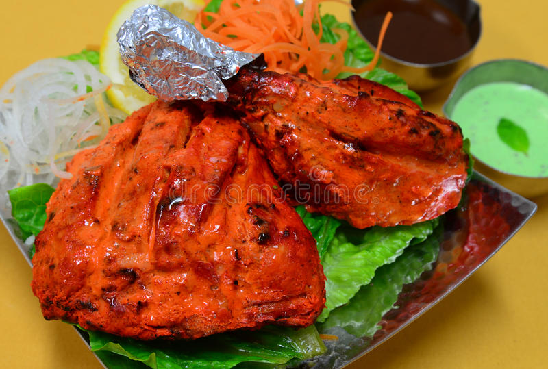 Tandoori Chicken royalty free stock photos