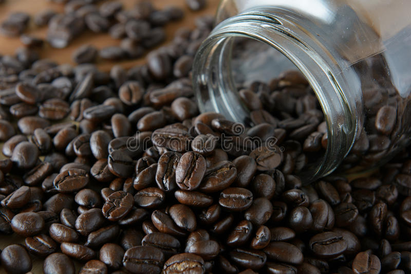 Roasted coffee stock images