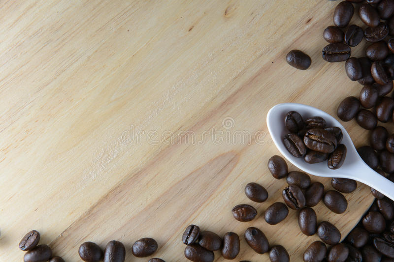 Roasted coffee royalty free stock photography