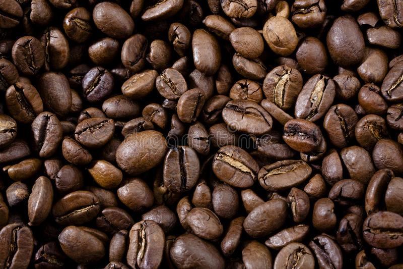 Download Roasted Coffee Beans Background Stock Photo - Image: 12937590