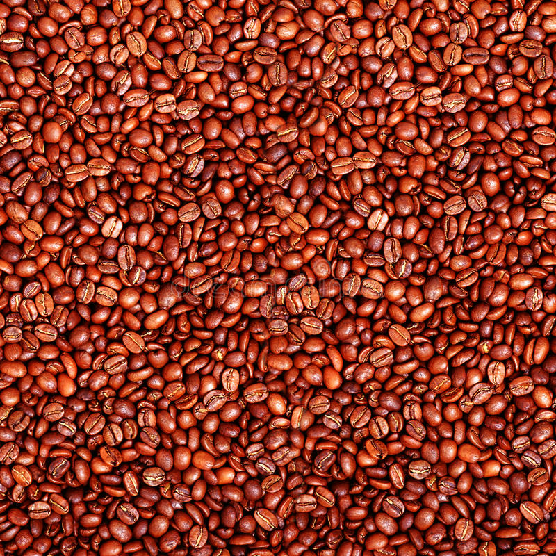 Roasted coffee beens royalty free stock photo