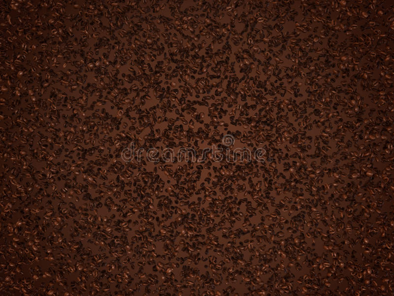Download Roasted Coffee Useful As Texture Stock Illustration - Image: 17010304