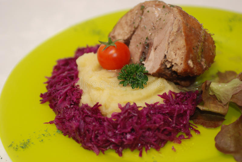 Roasted duck breast stock images