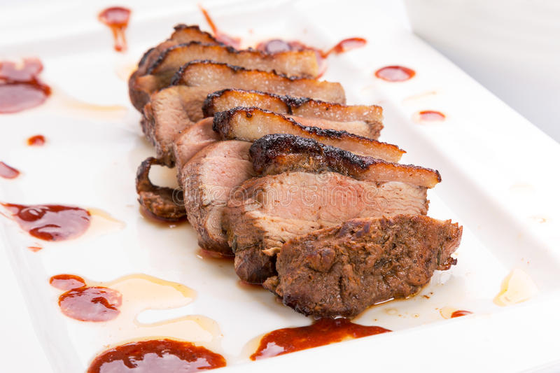 Download Roasted duck breast stock image. Image of breast, meal - 29782489