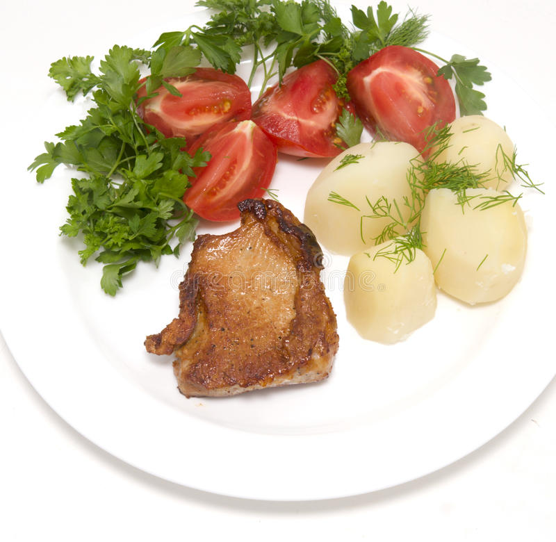 Download Roasted meat stock image. Image of lunch, focus, kitchen - 10774217
