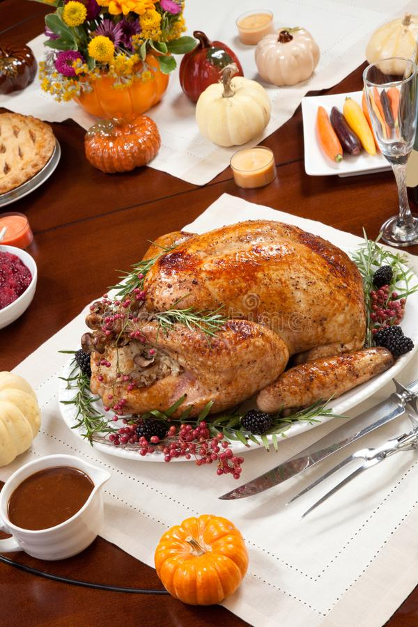 Pepper Turkey for Thanksgiving stock photos