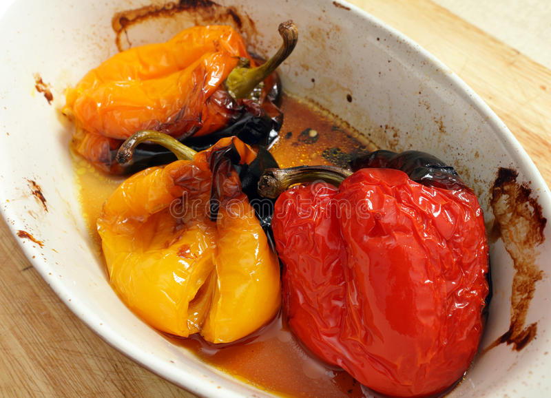 Roasted Peppers Royalty Free Stock Image