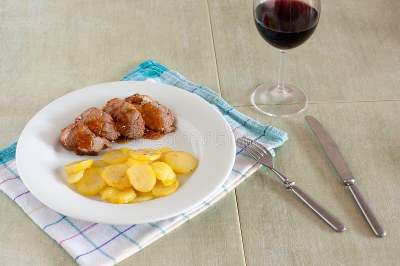 Download Roasted Pork Tenderloin Stock Photo - Image: 83704130