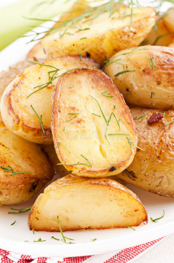 Download Roasted potato stock image. Image of biological, healthy - 18610173