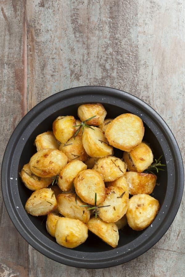 Roasted Potatoes with Rosemary stock image