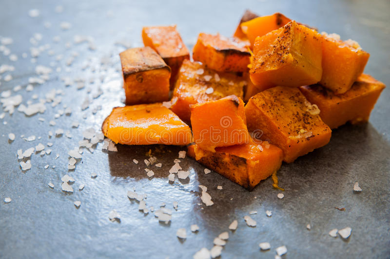 Roasted Pumpkin royalty free stock photography