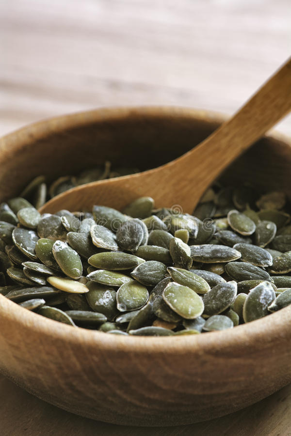 Free Roasted Pumpkin Seeds Royalty Free Stock Photography - 34805547