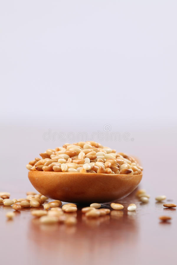 Download Roasted sesame seeds stock image. Image of ingredient - 15397669