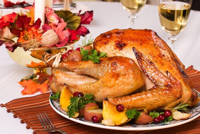 Roasted turkey royalty free stock image