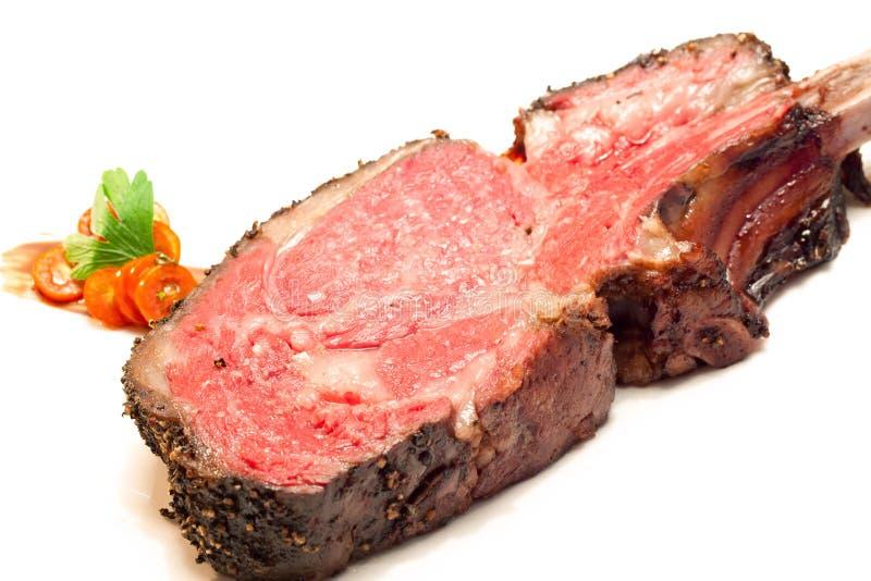 Roasted Wagyu beef steak stock photography