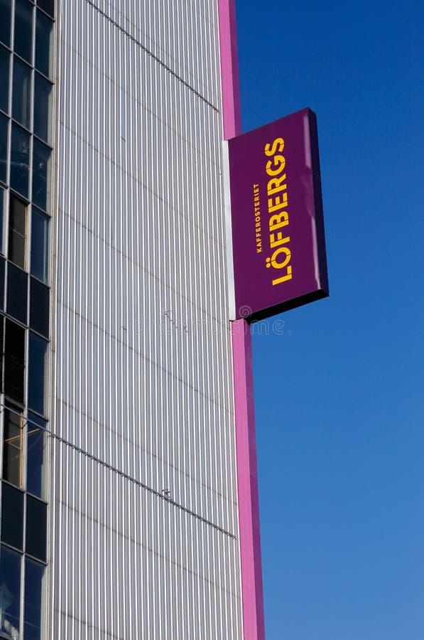 Roastery de café de Lofbergs photos stock