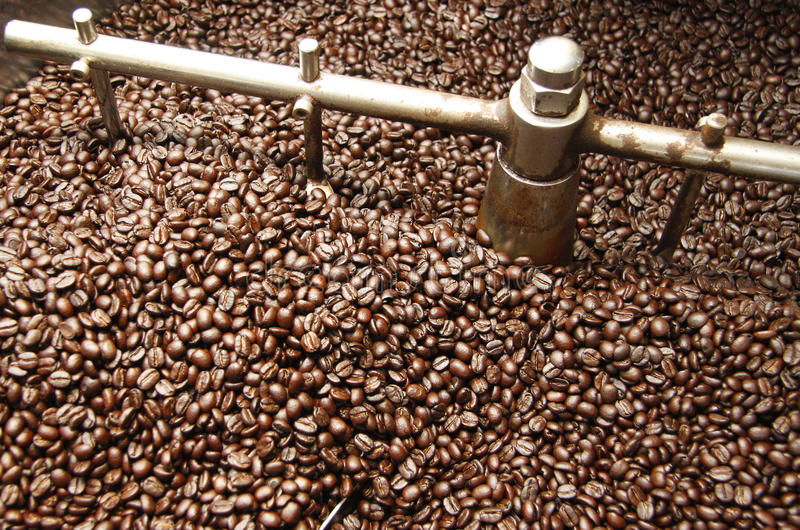 Download Roasting Coffee Beans stock image. Image of roast, fresh - 29352341