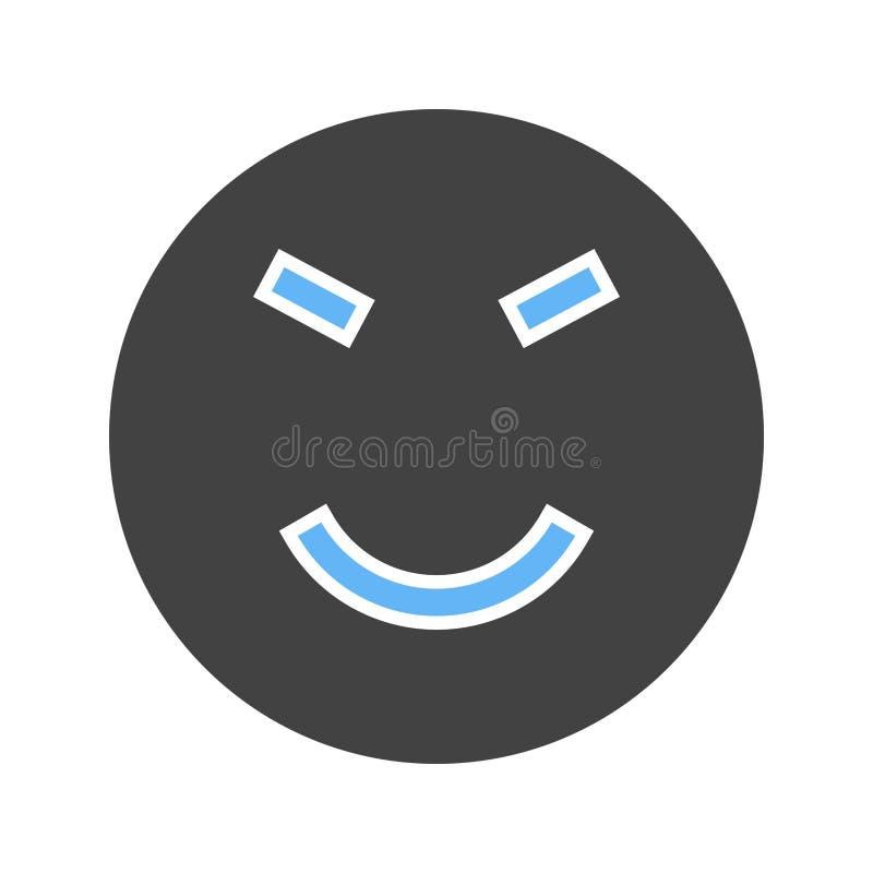 Roat munterhet som är lycklig stock illustrationer