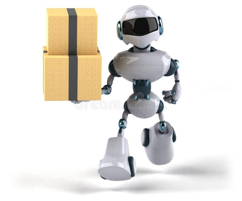 Robô ilustração do vetor