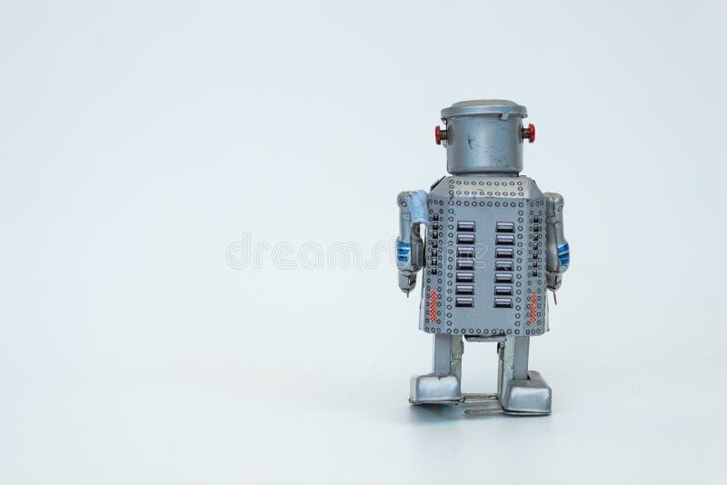 Robô da parte traseira imagem de stock