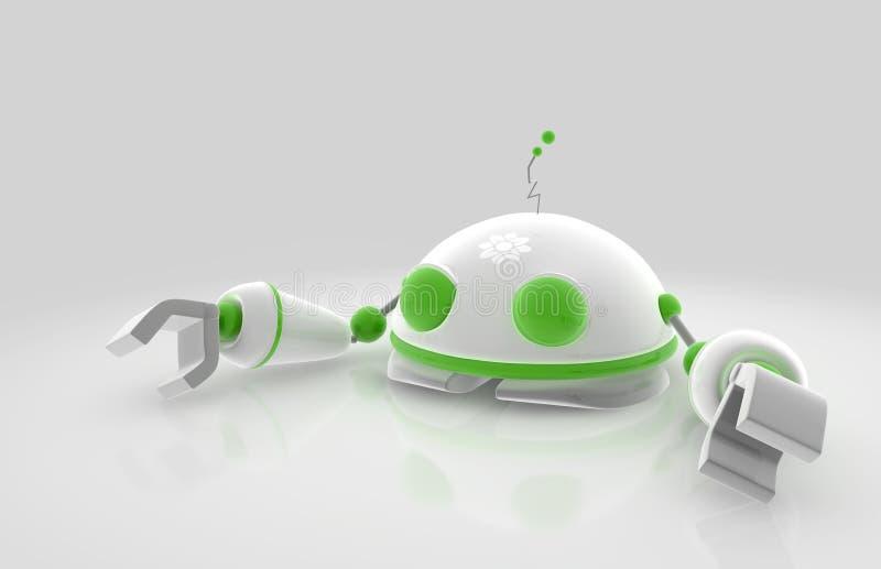 Robô de Enviro ilustração stock