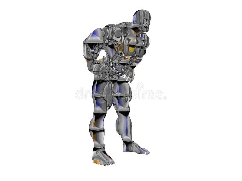 Robô de Hercules ilustração royalty free