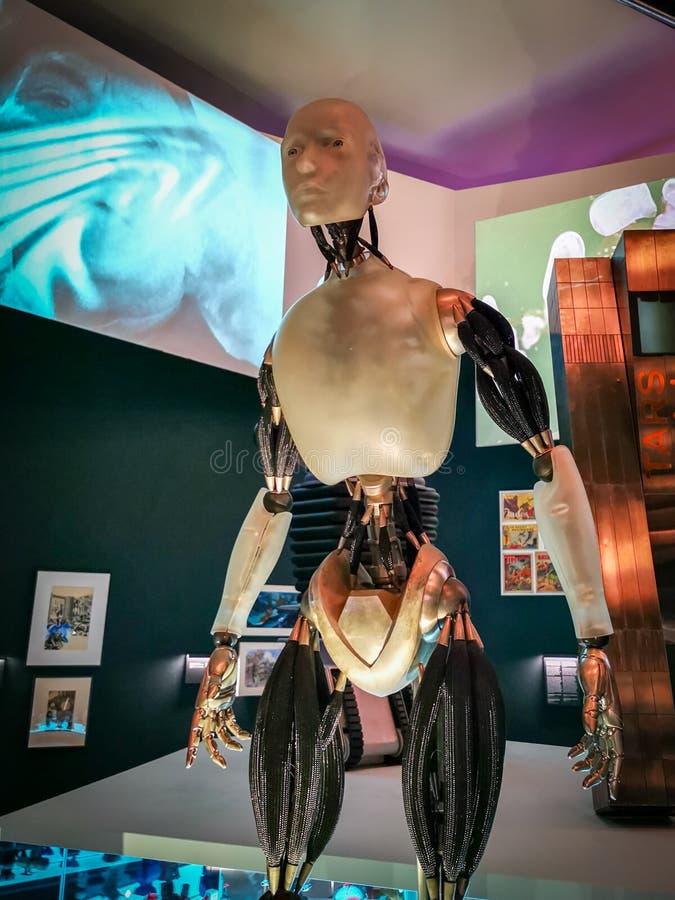 Robô do filme mim, robô 2004 imagem de stock
